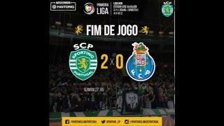 Sporting 2 - 0 Porto (Relato Antena 1)