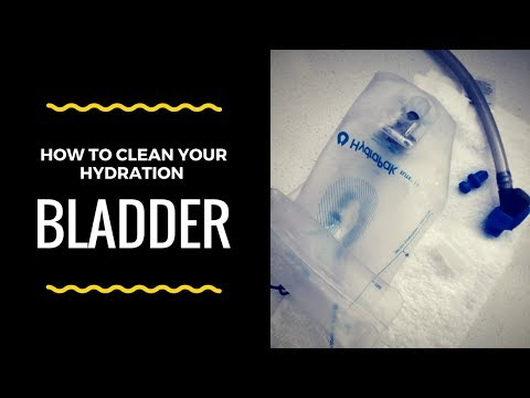 How To:  Clean Your Hydration Bladder