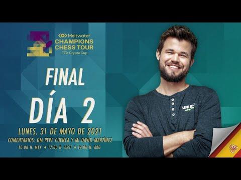 FTX Crypto Cup (¡GRAN FINAL!): Magnus Carlsen vs Wesley So