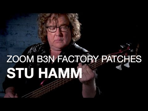 Stu Hamm - B3n Factory Patches