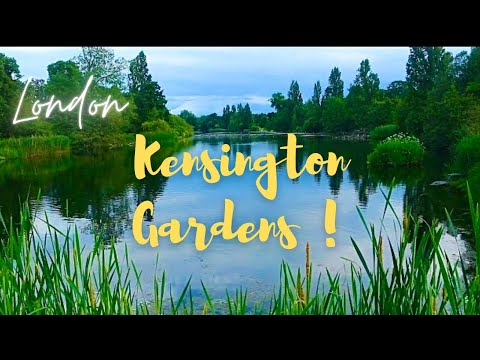 London Royal Kensington Gardens Hyde Park in 4K