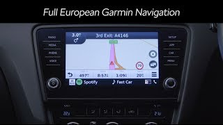 navigation & Spotify upgrade for SKODA infotainment system  Kenwood Car Entertainment