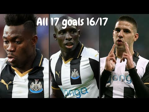 Christian Atsu, Mo Diamé & Aleksandar Mitrovic | All 17 Goals 16/17
