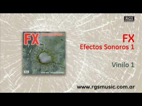 FX Efectos Sonoros 1 - Vinilo 1
