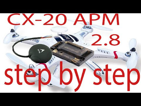 cx20 factory apm to apm 2 6 - 2.8 step by step