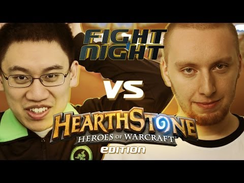 Fight Night Hearthstone - Trump vs Ek0p - S03E02