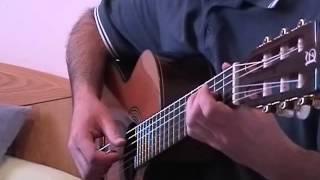 With or without you (U2) for classical guitar