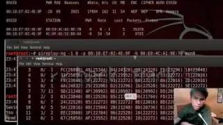 LimaHack 2011 - Wardriving and wireless penetration testing