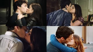 Pretty Little Liars [Aria and Ezra] - ENTIRE SERIES KISSES (S1-7)