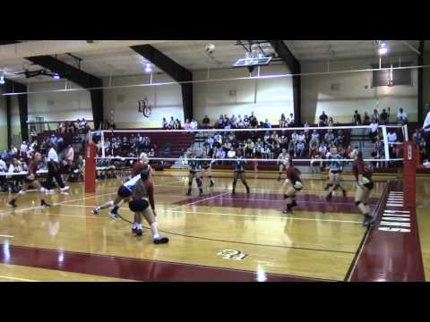 Hebron Christian vs Athens Academy 2015 volleyball
