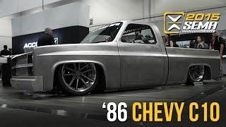 SEMA 2015 | 1986 Chevy C10 | Little Shop MFG