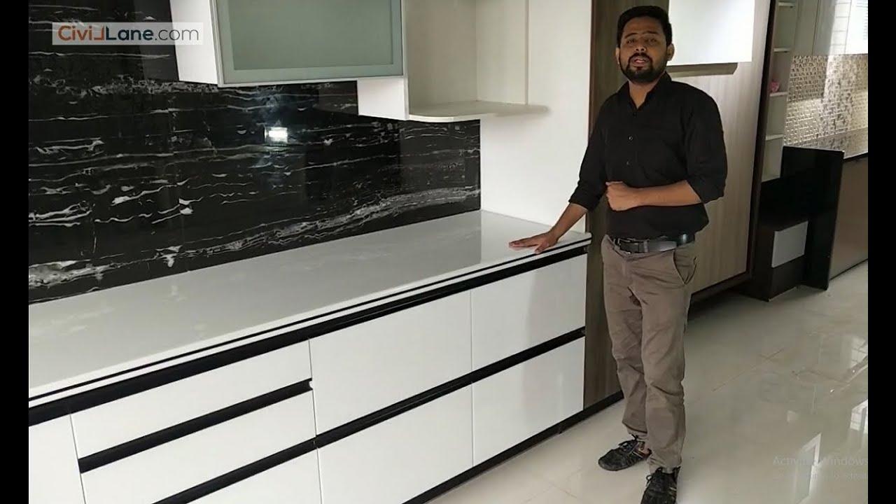 Modular Kitchen Design Ideas Part 1 By Civillane Com Youtube