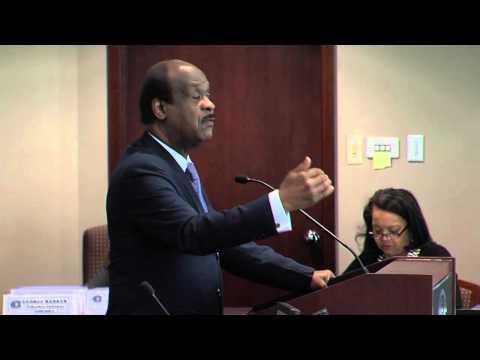 Montgomery County Executive Ike Leggett's Address to Metropolitan Washington Council of Governments