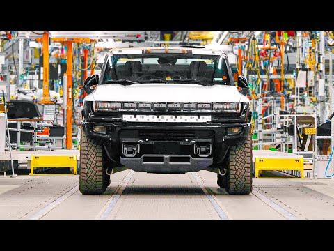 GMC Hummer EV Production Line | GM Factory ZERO