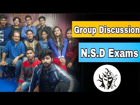 group discussion NSD exam part 1 acting tips and techniques Guru online acting Guru #NSD exam