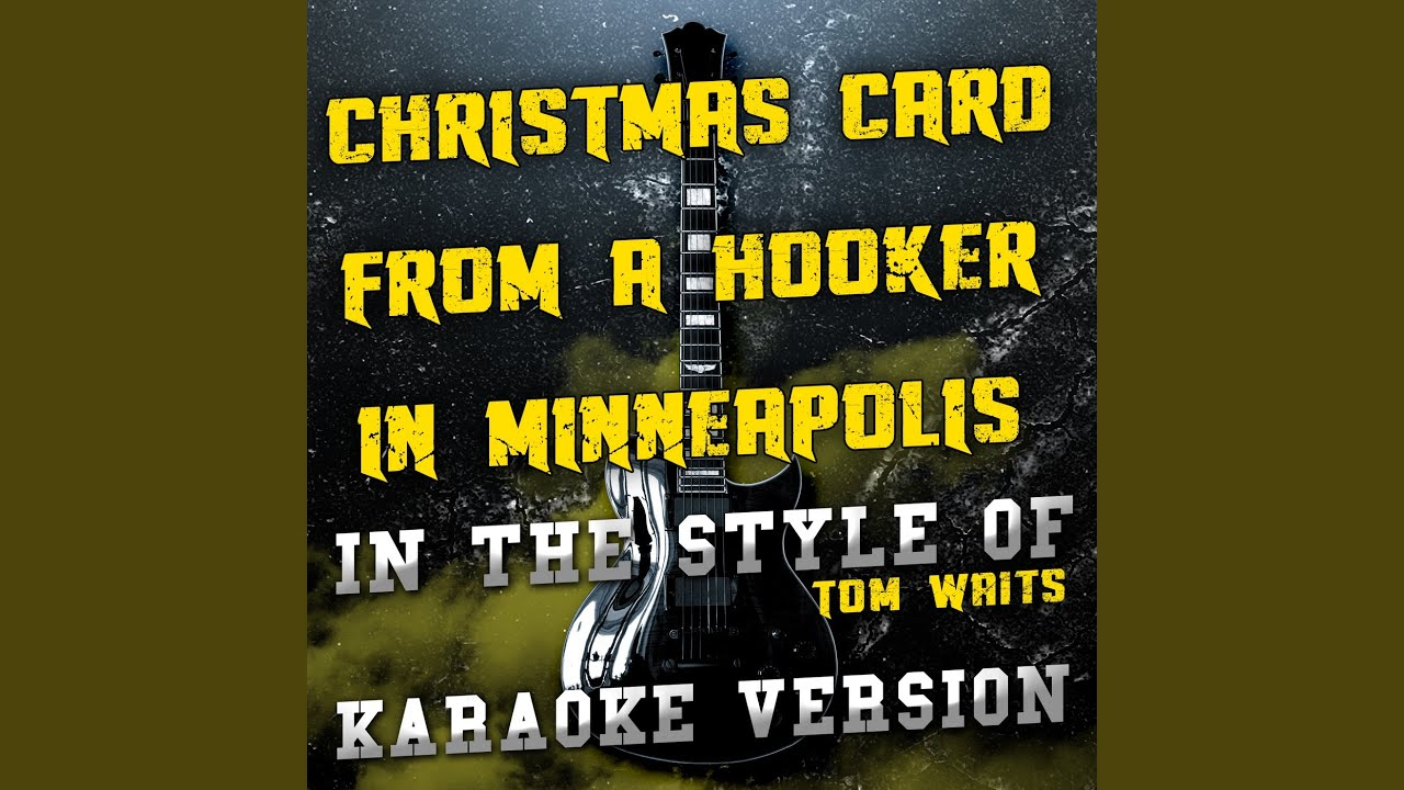 Christmas Card from a Hooker in Minneapolis (In the Style of Tom ...