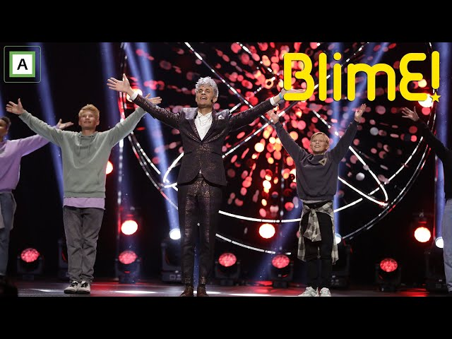 Victor synger Ser deg på MGPjr - BlimE 2020