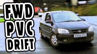 Is FWD PVC drift easy? Hyundai Getz TANDEM!!!!