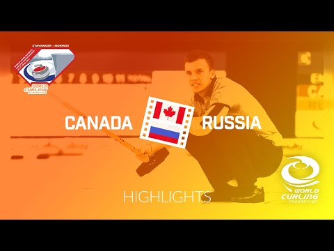 HIGHLIGHTS: Canada v Russia – Quarter-final - World Mixed Doubles Curling Championship 2019