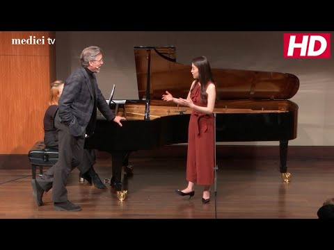 Master Class with Thomas Hampson - 2017 Manhattan School of Music - Gluck: Orefeo ed Euridice