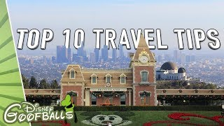 Top 10 Los Angeles Travel Tips Besides Disneyland! 🇺🇸