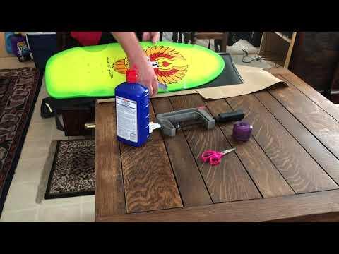 How to apply skateboard griptape