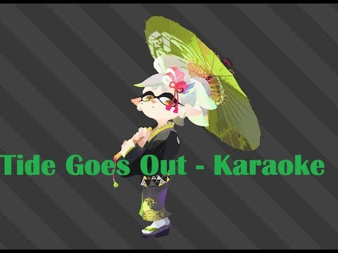 Tide Goes Out - Karaoke (English)