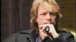 Jon Bon Jovi - Interview (Part 2)