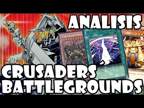 ANALISIS NUEVA CAJA: CRUSADERS´ BATTLEGROUNDS [Yu-Gi-Oh! Duel Links]
