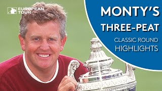 Colin Montgomerie makes history by winning 3rd PGA Championship in a row | Classic Round Highlights
