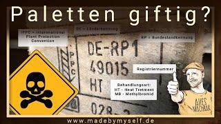 Europaletten Upcycling - Sind Palettenmöbel gesundheitsschädlich oder giftig?