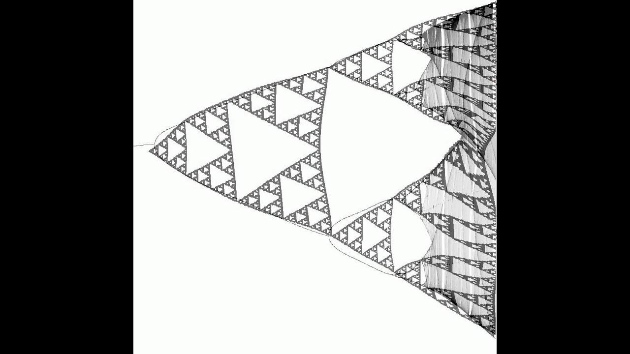 Bifurcation diagram to sierpiski triangle youtube bifurcation diagram to sierpiski triangle pooptronica