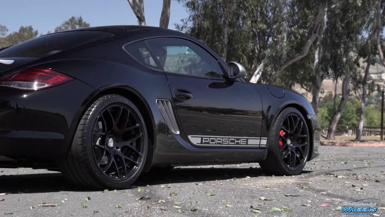 Porsche Cayman R On Avant Garde Ruger Mesh Wheels By California You