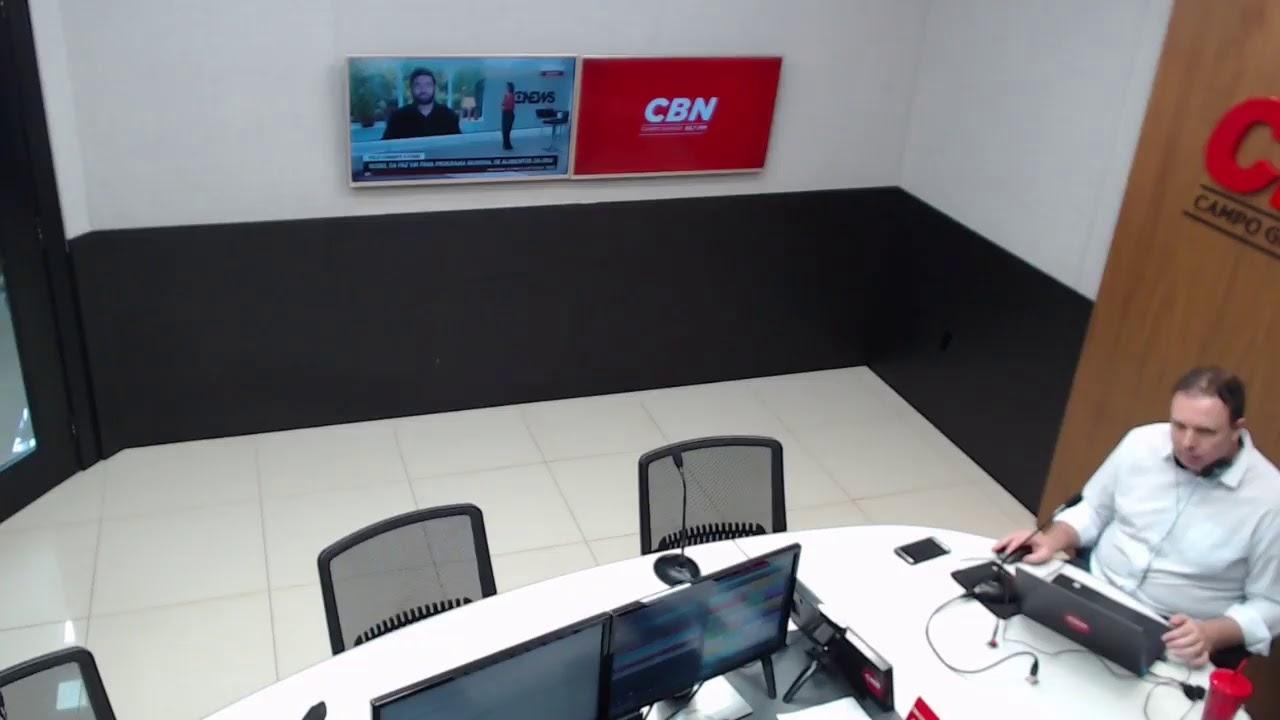 CBN Campo Grande (09/10/2020): com Ginez Cesar