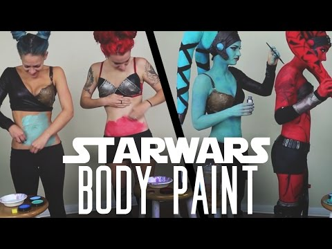 Star Wars - Twilek Cosplay - Body Paint Transformation