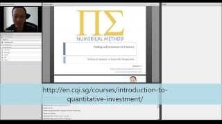 Introduction to Quantitative Trading - Lecture 1/8