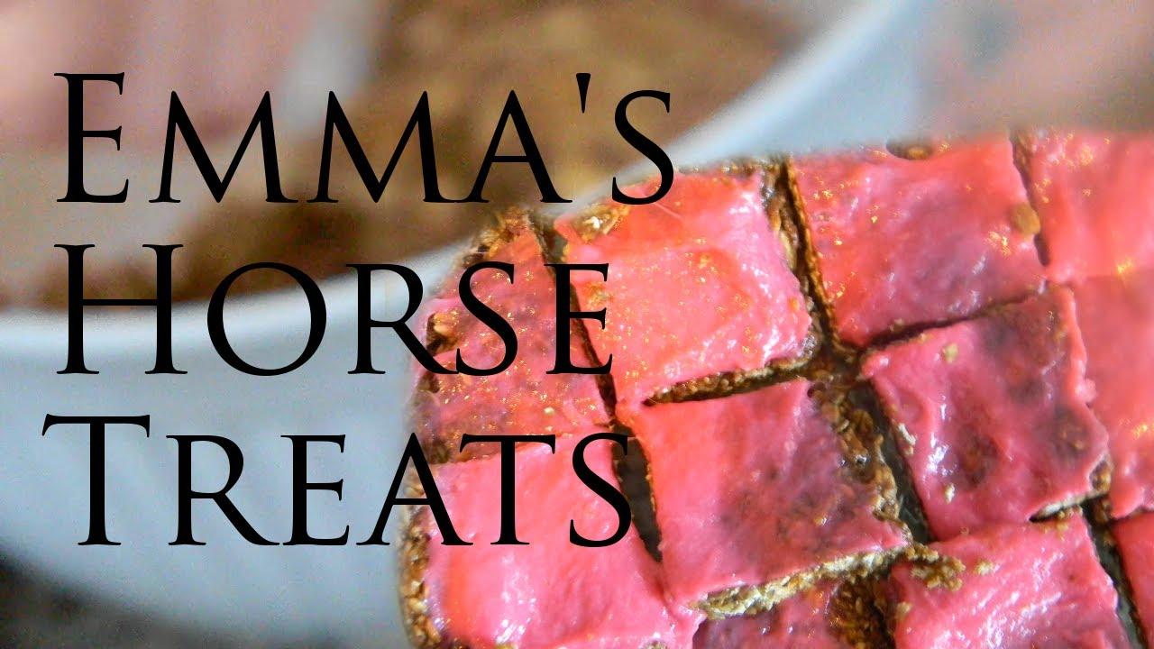 Pony Toffee Homemade Horse Treat Recipe Youtube