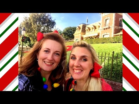 NEW - Christmas at Disneyland - Festive Foods Marketplace - vlogmas