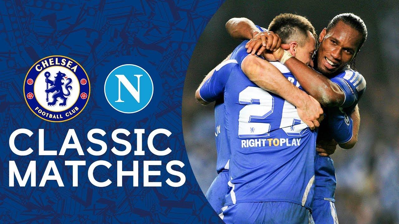 Chelsea 4-1 Napoli | Late Goal Seals Dramatic Comeback | Champions League Classic Highlights