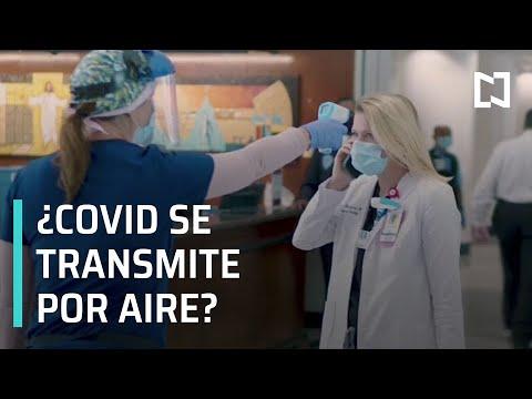 OMS analiza si COVID-19 se transmite por aire - Las Noticias