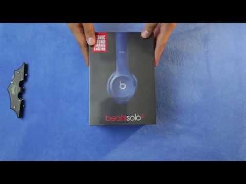 Beats Solo2 Unboxing BLUE