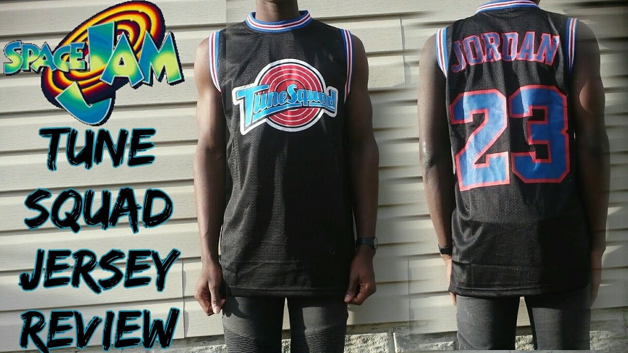 detailing 46fcd 1ec55 Space Jam Tune Squad Jersey Review