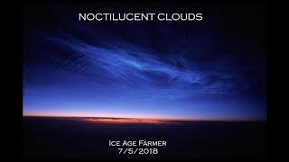 Noctilucent Narrative: Incoming Signs in Sky * Japan Flooding * 37,000ac Lost in France