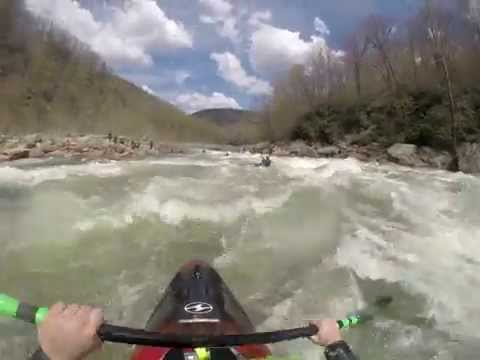 Cheat Canyon Kayaking - Big Nasty, Coliseum, Pete Morgan