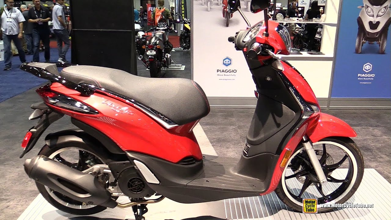 2017 piaggio liberty 50 i-jet sport scooter - walkaround - 2016
