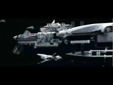 Iron Sky - Earth Fleet Scene