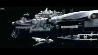 Iron Sky - Earth Fleet Scene