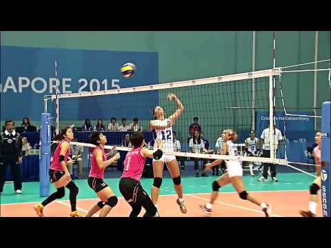Seagames 2015 highlights women's Volleyball Malaysia VS Phil