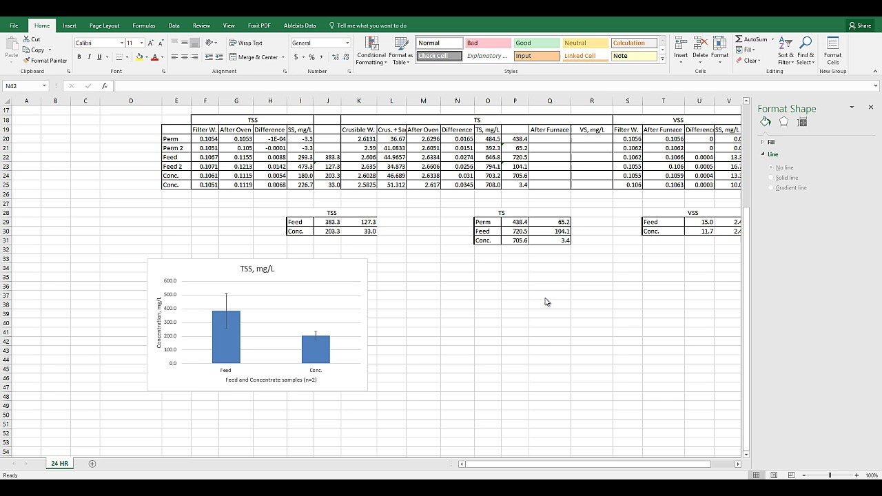 Excel 2016 Bar Graph Individual Error Bars Youtube