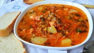 Суп Харчо грузинский из говядины  с ткемали